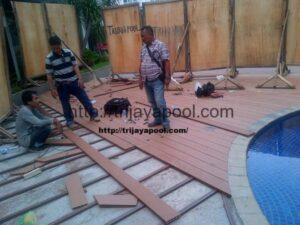 Jasa Pemasangan WPC Deck Pool 8