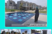 cluster diamond golden city