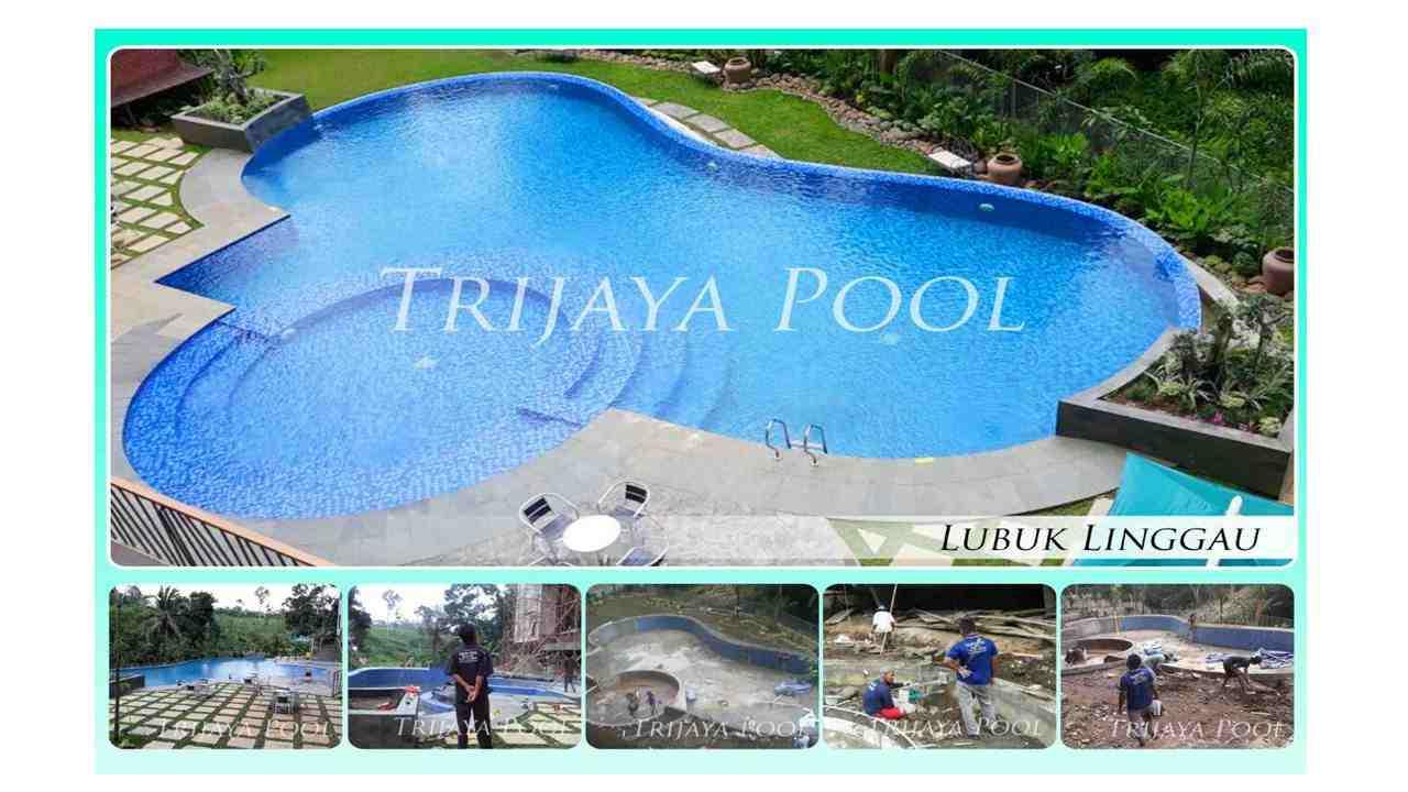 Jasa Kontruksi Kolam Renang by Trijaya Pool Pendopo-Empat Lawang