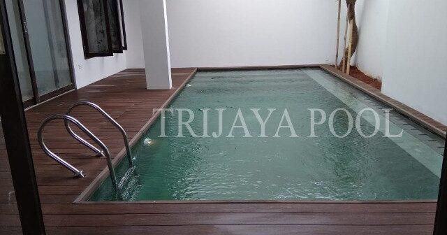 kolam renang di bali yang dibuat oleh trijaya pool