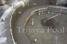 kolam renang whirlpool yang dibuat oleh trijaya pool