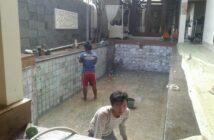 renovasi kolam renang klien oleh trijaya pool