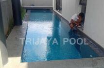 Lampu kolam renang yang dibetulkan oleh trijaya pool