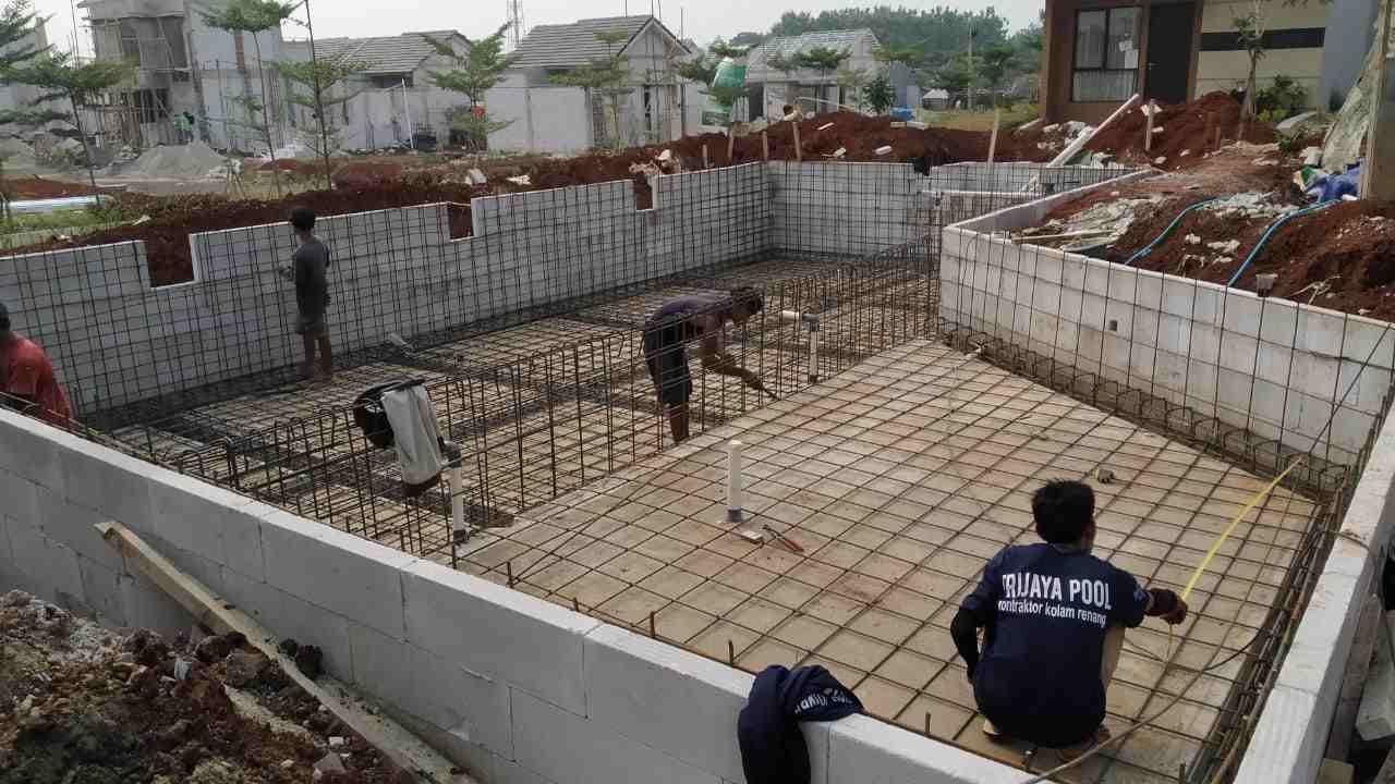 Jasa Kontraktor Kolam Renang Medan Trijaya Pool