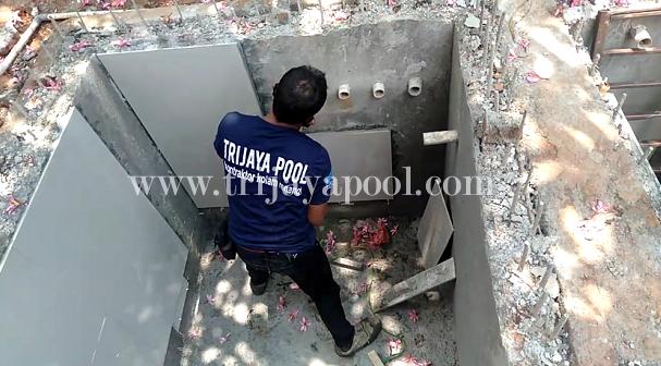 Jasa Pembuatan dan Instalasi kolam renang Trijaya Pool